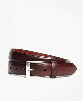 Brooks Brothers Perforated Cordovan Belt