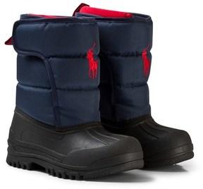 Ralph Lauren Navy Hamilten II Snow Boots