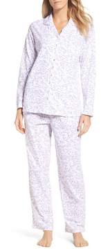 Eileen West Women's Notch Collar Pajamas