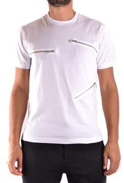 Les Hommes Men's White Cotton T-shirt.
