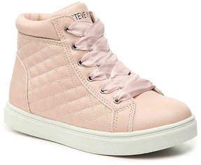 Steve Madden Saffire Youth High-Top Sneaker - Girl's