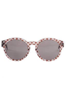 Stella McCartney Round Trans Orcirrd Brown 2048/73 Sunglasses