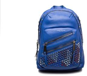 Marc Jacobs Women's Leather 'Pyt' Jewled Studded Backpack Blue - BLUE - STYLE