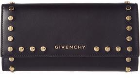 Givenchy Pandora Leather Long Flap Wallet