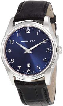 Hamilton Jazzmaster Thinline Blue Dial Men's Watch