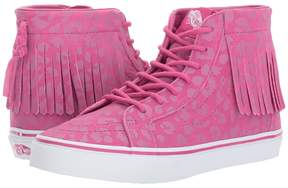Vans Kids Sk8-Hi Moc Very Berry) Girls Shoes