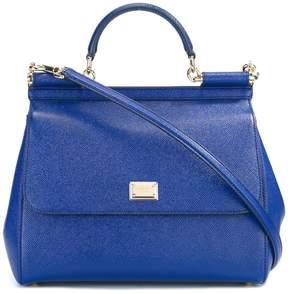Dolce & Gabbana large Sicily shoulder bag - BLUE - STYLE