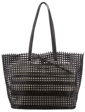 Loeffler Randall Open Leather Tote