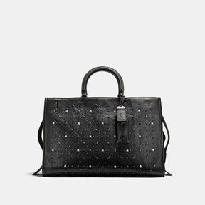 COACH Coach Rogue 39 With Prairie Rivets - BLACK COPPER/BLACK - STYLE