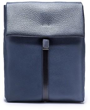 Calvin Klein Pebble Leather Slated Backpack