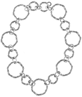 Peter Thomas Roth Signature Classic Silver Link Necklace