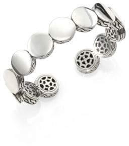 John Hardy Dot Sterling Silver Slim Cuff Bracelet