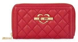 Love Moschino Super Quilted Continental Wallet