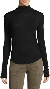 Lot 78 Lot78 Women's Rib Turtleneck Tee