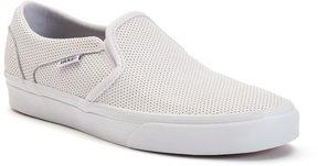 Vans Asher Women's Perforated Slip-On Skate Shoes