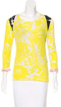 Christian Lacroix Jersey Long Sleeve Top