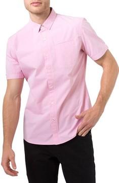 7 Diamonds Men's Interspace Dobby Shirt