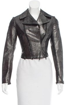 Alaia Leather Moto Jacket w/ Tags