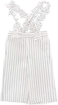 Il Gufo Stretch Cotton Gabardine Overalls