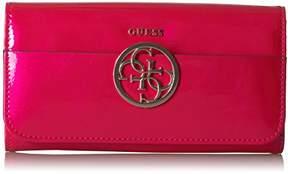 GUESS Women's Kamryn Metallic Large Flap Oranizer