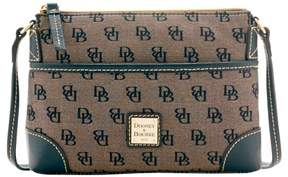 Dooney & Bourke Madison Signature Ginger Pouchette Shoulder Bag - BLACK - STYLE