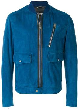 Dolce & Gabbana patch pocket bomber jacket