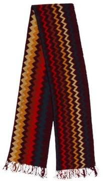Missoni Wool Patterned Scarf