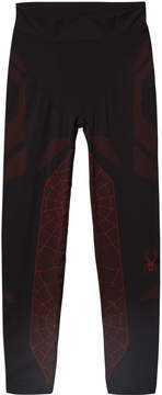 Spyder Black and Red Boys Racer Pant