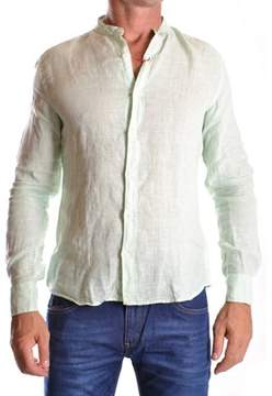 Altea Men's Green Linen Shirt.