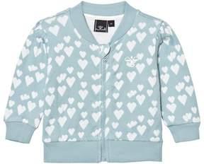 Hummel Blue Stone Heart Zip Jacket