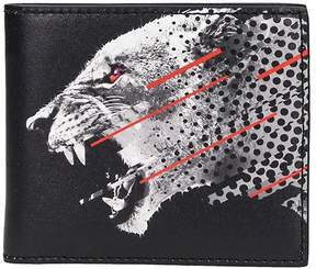 Marcelo Burlon County of Milan Sham Black Leather Wallet