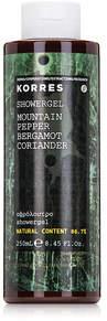 Korres Mountain Pepper Bergamot Coriander Showergel