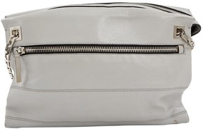 Victoria Beckham Grey Leather Handbag