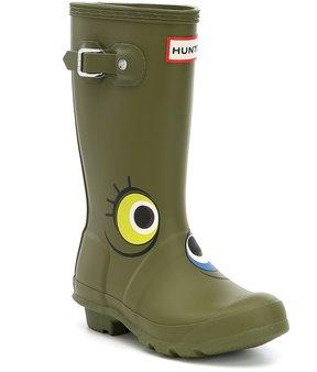 Hunter Kids Glitter Waterproof Rain Boots