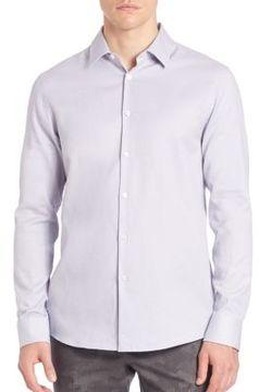 Michael Kors Micro Checkered Shirt