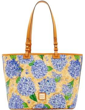 Dooney & Bourke Hydrangea Basketweave Leisure Shopper Tote - PURPLE - STYLE