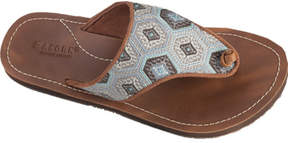 Acorn Women's Artwalk Leather Flip Sandal