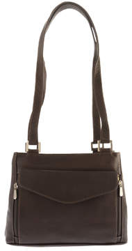 Piel Leather Double Compartment Shoulder Bag 2999