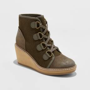 Merona Women's Lorelle Wedge Hiker Boots