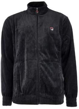 Fila Velour Jacket - Grey - Mens - L