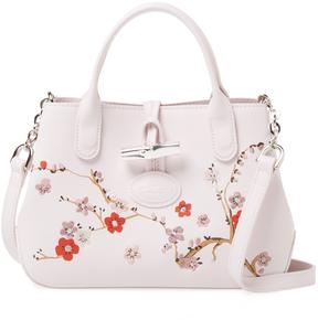 Longchamp Women's Embroidered Crossbody Bag