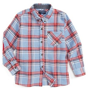Andy & Evan Toddler Boy's Plaid Flannel Shirt