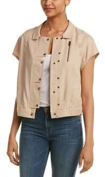 Dolce Vita Sheila Linen-blend Jacket.