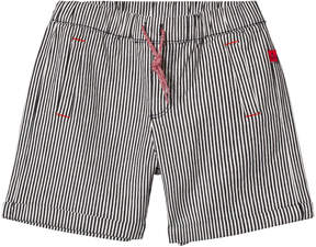 Absorba Navy Stripe Pull Up Shorts