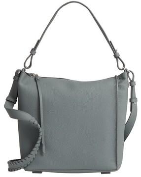AllSaints 'Kita' Leather Shoulder/crossbody Bag - Blue