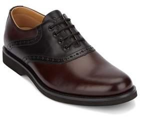 G.H. Bass & Co & Co. Mens Parker Leather Saddle Oxford Shoe.