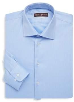 Hickey Freeman Contemporary-Fit Cotton Dress Shirt