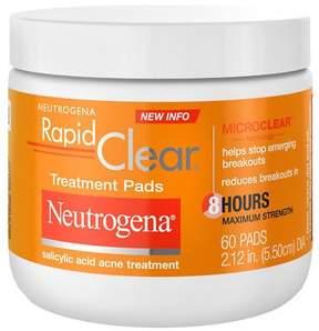 Neutrogena Rapid Clear Maximum Strength Acne Treatment Pads