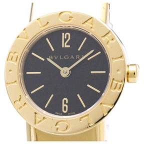 Bulgari yellow gold watch