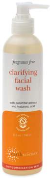 Fragrance Free Clarifying Facial Wash by Earth Science (8oz Liquid)